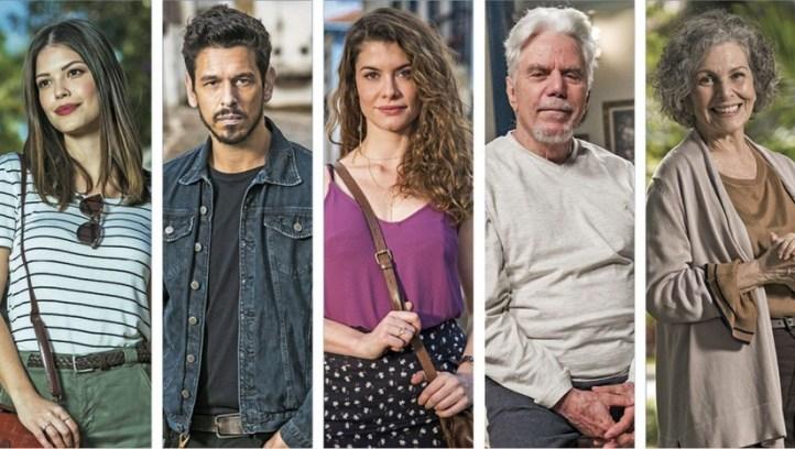 Elenco de Espelho da Vida, novela da Globo (Foto: Divulgação)