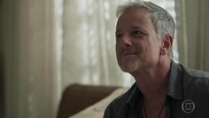 Sampaio (Marcello Novaes) em cena de O Sétimo Guardião (Foto: Reprodução/Globo)