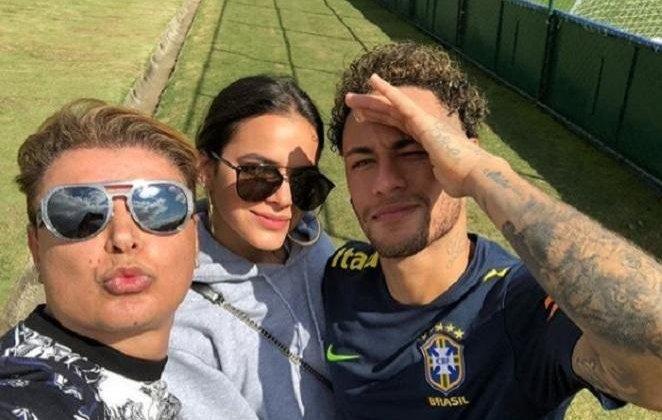 David Brazil, Bruna Marquezine e Neymar (Foto: Divulgação)