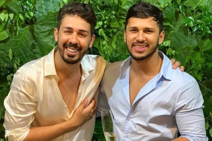 Carlinhos Maia e Lucas Guimarães (Foto: Reprodução)
