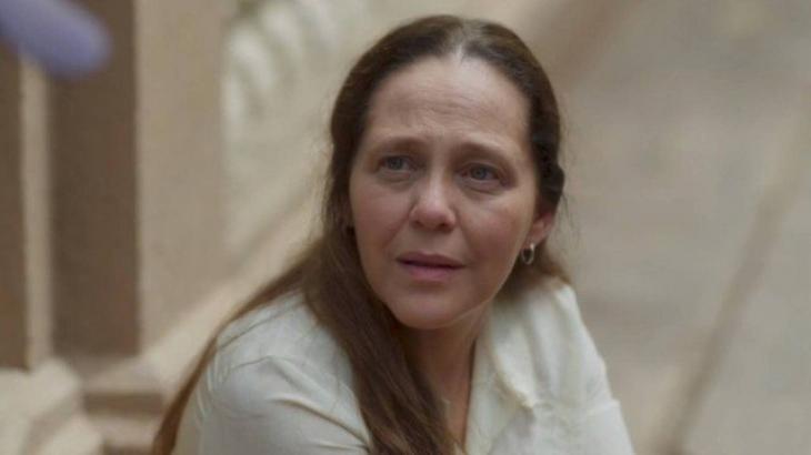 Judith em O Sétimo Guardião (Foto: Reprodução/ Globo Comunicação e Participações S.A.)