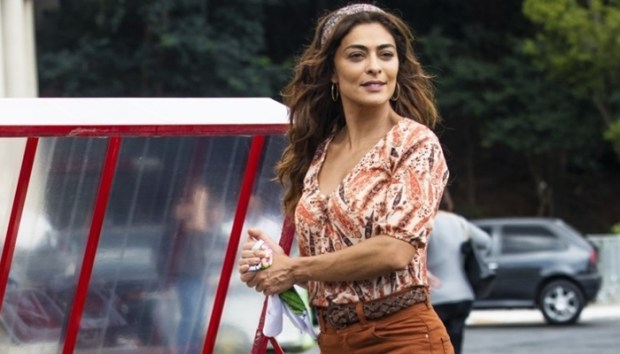 Juliana Paes como Maria da Paz em A Dona do Pedaço (Foto: Globo/João Miguel Júnior)