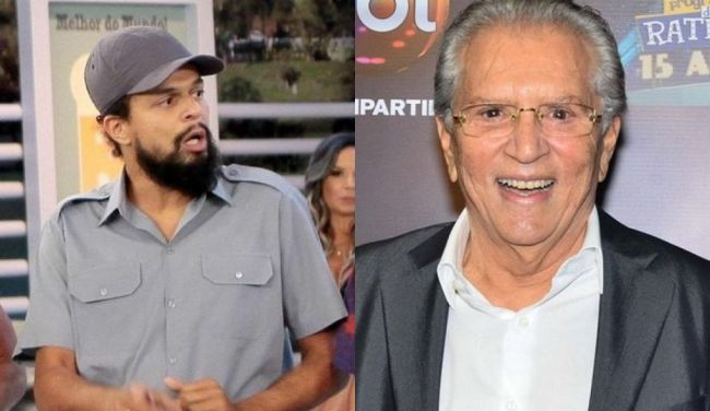 Pierre Bittencourt e Carlos Alberto de Nóbrega (Foto: Montagem/TV Foco)