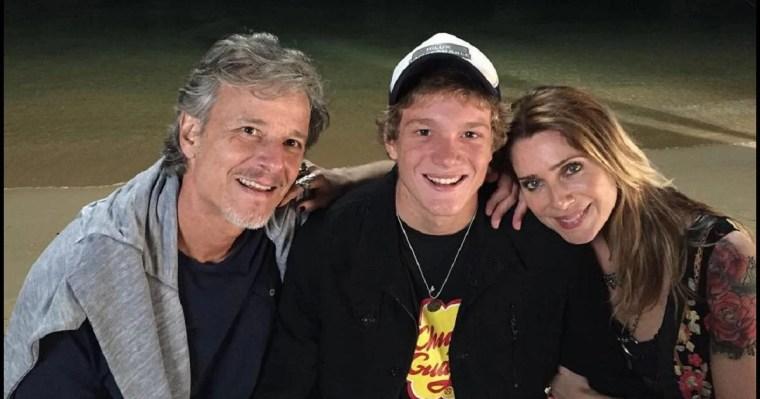 Filho de Marcello Novaes e Letícia Spiller, Pedro Novaes pega geral nos estúdios Globo e é flagrado com drogas Foto: Reprodução