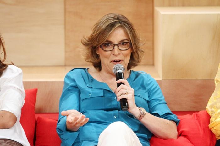 Bárbara Garcia apresentou o programa Saia Justa no GNT (Foto: Reprodução)