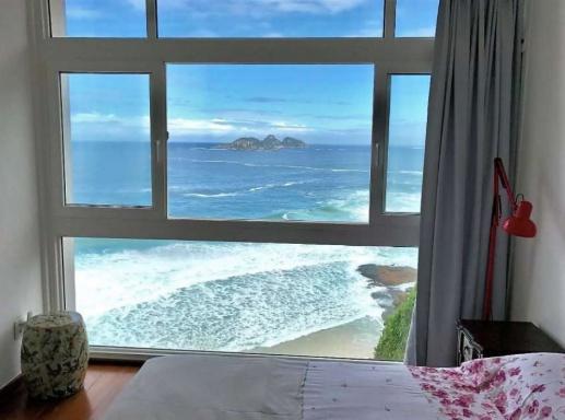 Yanna Lavigne e Bruno Gissoni da Globo e a filha vão morar em novo apartamento milionário no Rio de Janeiro Foto: Reprodução