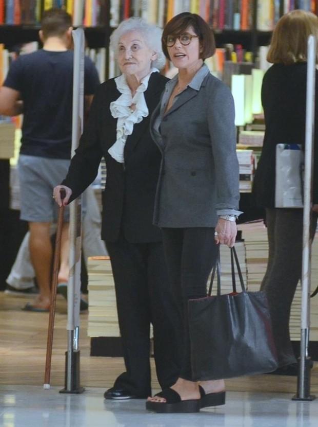 Christiane Torloni e Monah Delacy (Foto: AgNews)