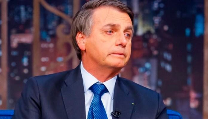 Jair Bolsonaro é crítico da grande imprensa, à exceção do SBT, Record e da Jovem Pan (Foto: Gabriel Cardoso/SBT)