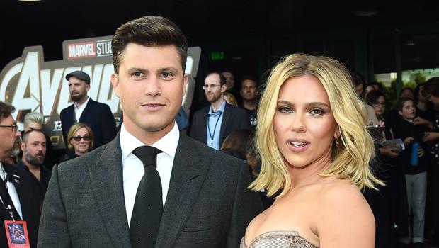 Scarlett Johansson e Colin Jost estão noivos (Foto: Reprodução)