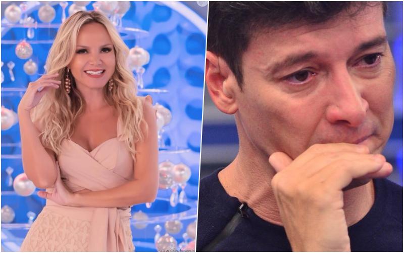 Rodrigo Faro e Eliana brigam pela audiência, se alfinetam pelas redes sociais e a loira do SBT dispara indireta Foto: Reprodução
