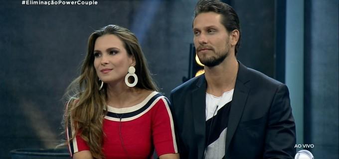 Kamilla Salgado e Eliéser Ambrósio são eliminados do Power Couple (Foto: Reprodução)