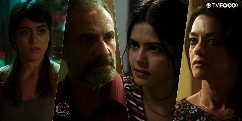 Laila (Julia Dalavia) pegará o pai Elias (Marco Ricca) pulando a cerca na novela Órfãos da Terra da Globo