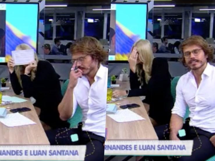 Val Marchiori questionou vida amorosa de Franklin David do Tricotando da RedeTV! ao vivo