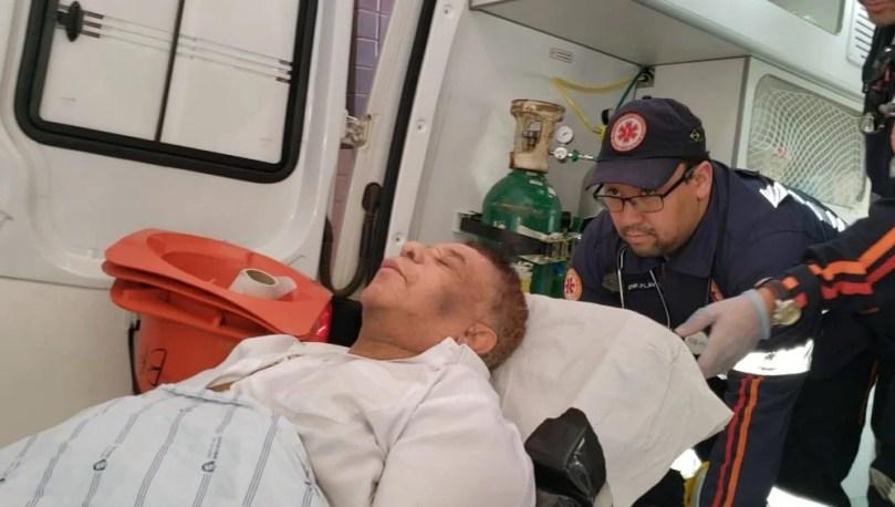 Agnaldo Timóteo encontra-se em estado grave (Foto: Reprodução)