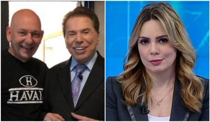 Luciano Hang pediu a Silvio Santos a demissão de Rachel Sheherazade (Foto: Reprodução)