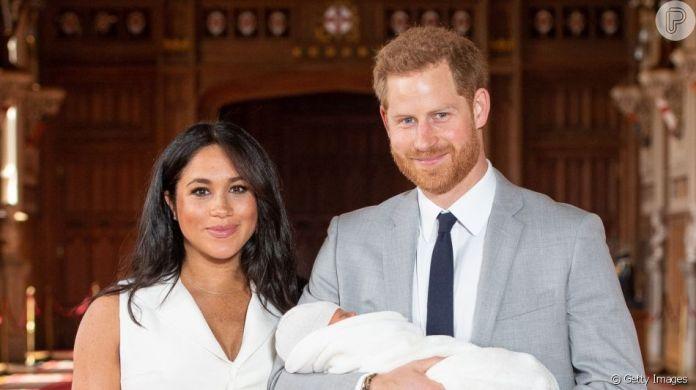 Meghan Markle e Harry são casados e já possuem um herdeiro (Foto: Reprodução)