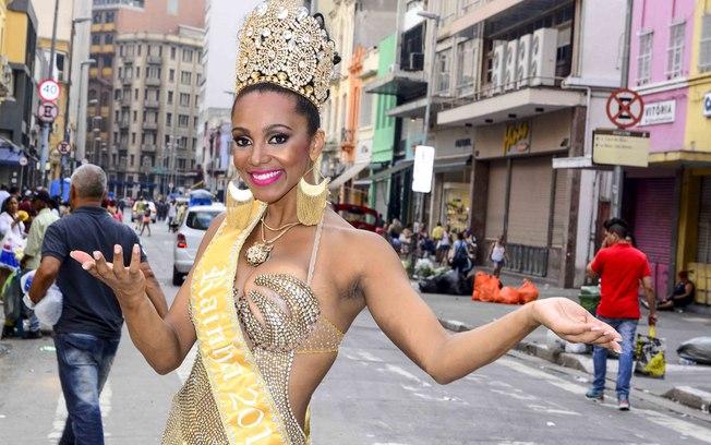 Theba Pitylla, a substituta de Lívia Andrade no Carnaval (Foto: Reprodução)