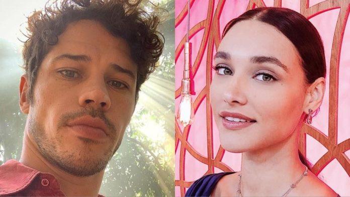 Os atores, José Loreto e Débora Nascimento se separaram em fevereiro, juntos eles tem uma filha (Montagem: <a href=