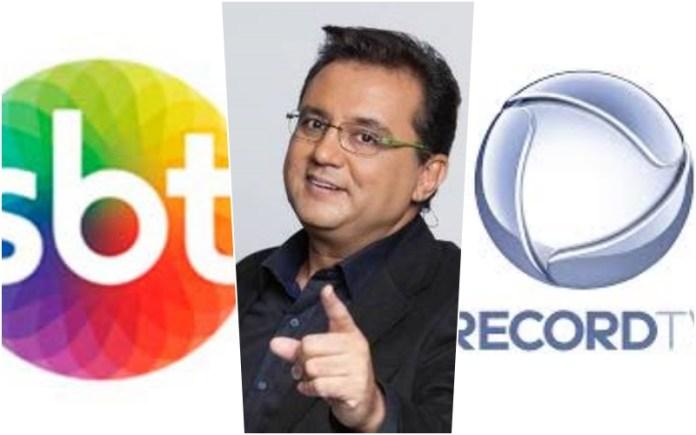 Após perder audiência para o SBT, Record resolve apostar novamente em Geraldo Luis (Montagem <a href=