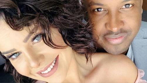 A atriz Fernanda Souza e seu marido Thiaguinho (Imagem: Instagram)