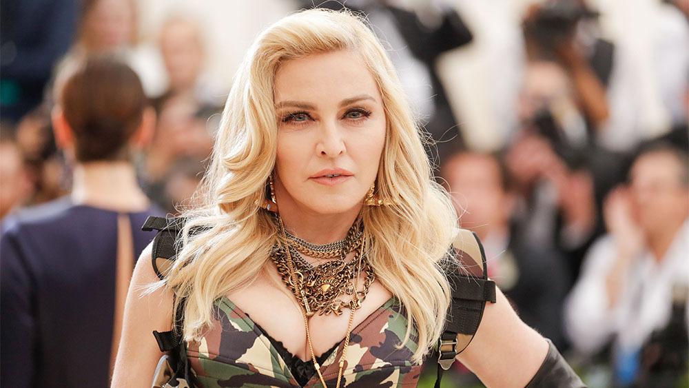 Em uma entrevista ao Fantástico, Madonna comentou relação que teve com Jesus Luz (Foto: Reprodução)