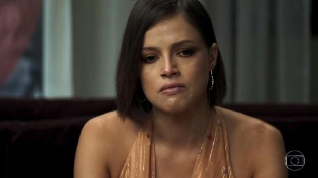 Josiane (Agatha Moreira) se estrepará em A Dona do Pedaço (Foto: Reprodução/Globo)