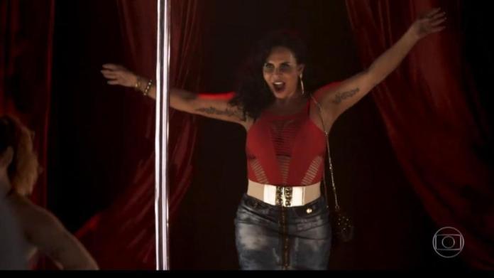 Gretchen aparece em A Dona do Pedaço, novela das 21h da Globo