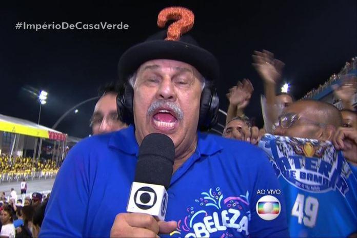 O repórter Márcio Canuto está fora da Globo (Foto: Reprodução)