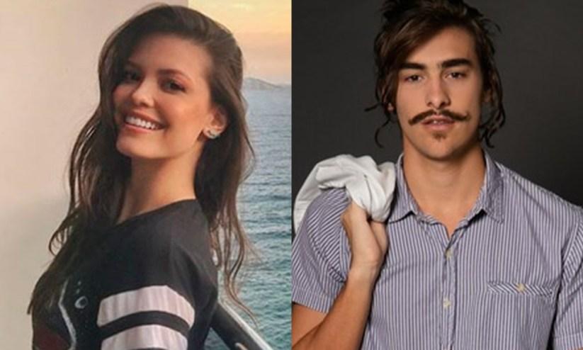 Vitória Strada e Bruno Montaleone estarão no Dança dos Famosos 2019. (Foto: Reprodução/Montagem)