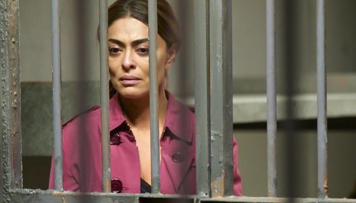 Maria da Paz (Juliana Paes) vai acabar na prisão após atirar em Régis em A Dona do Pedaço (Foto: Globo/João Miguel Júnior)