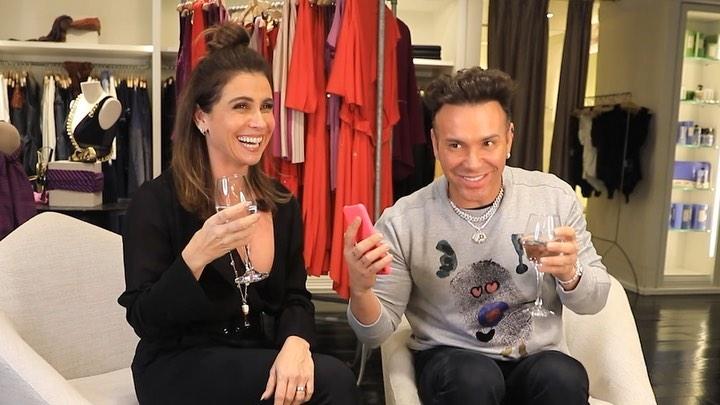 Giovanna Antonelli e Matheus Mazzafera (Foto: Reprodução/Instagram)