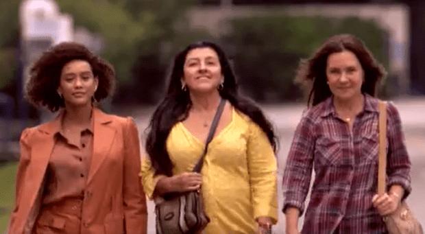 Taís Araújo, Regina Casé e Adriana Esteves em Amor de Mãe, próxima novela das nove substituta de A Dona do Pedaço (Foto: Reprodução/Globo)