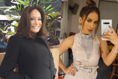 Susana Vieira é menosprezada por Anitta nos bastidores do Criança Esperança e vídeo polêmico é divulgado