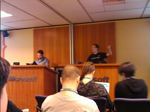 Ezequiel Glinsky y Angel Java Lopez en Worcampa Argentina 2010