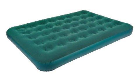"""Кровать надувная RELAX """"DOUBLE"""" с ножным насосом, 191 х 137 х 22 см"""