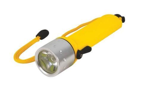 Подводный фонарь FIT 67768, цвет: желтый