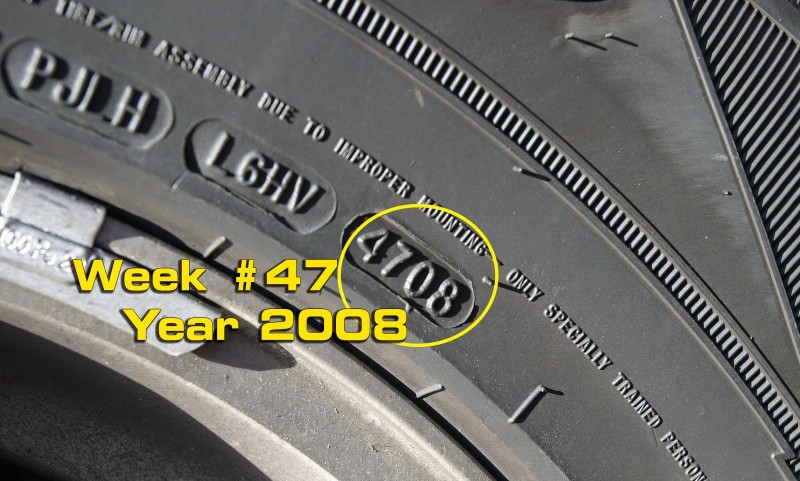 Find Year Tire Was Made