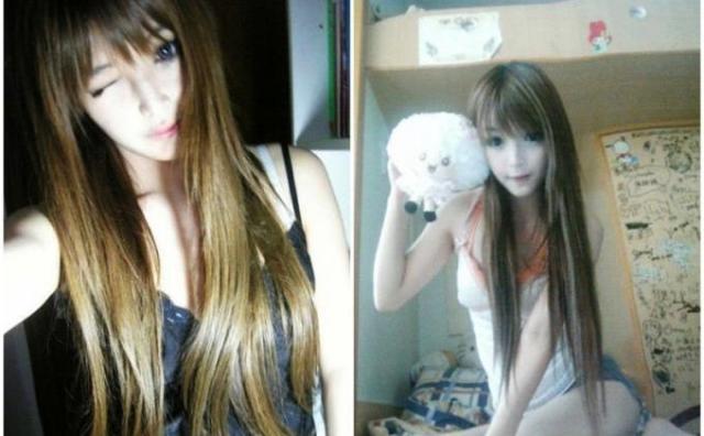 Foto Gadis China Cantik Wang Jiayun Mirip Seperti Boneka3
