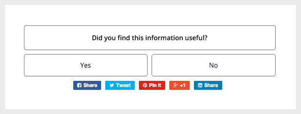 Customer Satisfaction WordPress Poll Plugin