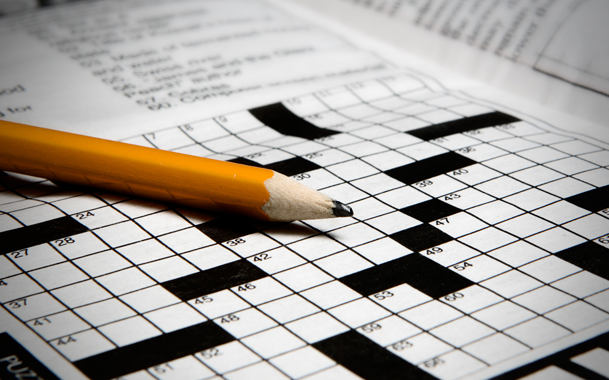 Cheating On A Crossword Puzzle