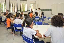 Produção de Materiais Escola Papa Paulo VI Delmer Rodrigues 4 270x179 - Estudantes da Rede Estadual de Ensino aprendem sustentabilidade com a produção de produtos de limpeza