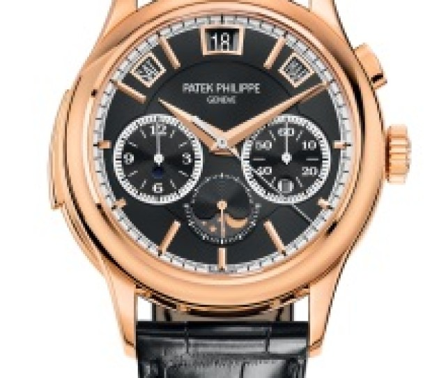 Patek Philippe Grand Complications Ref 5208r 001 Rose Gold Face