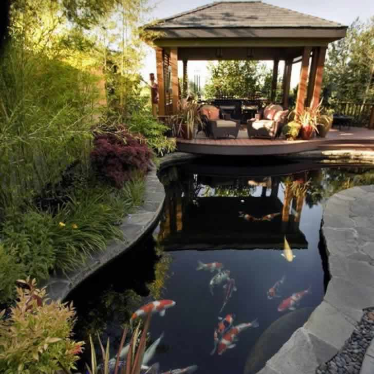Garden Ponds Amp Water Features Client Gallery Perfect Ponds