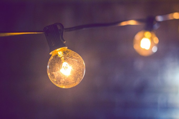 lights, string lights, bulb