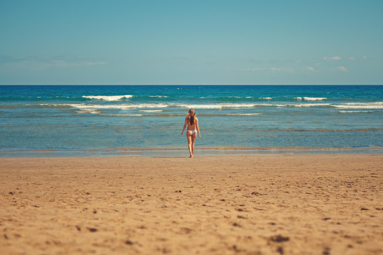 Free Stock Photo Of Beach Bikini Blue