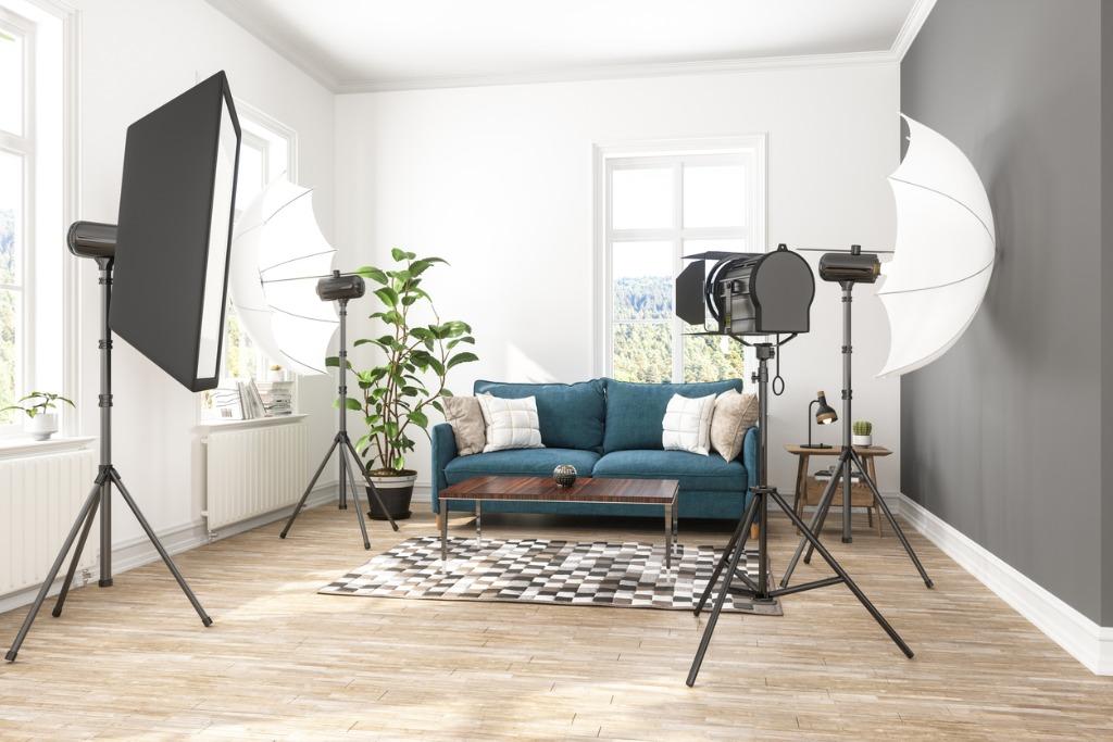 lighting options for your home video studio