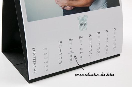 calendrier photos pas cher calendrier personnalise pas cher