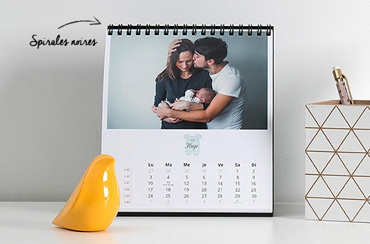 calendriers personnalise pas cher