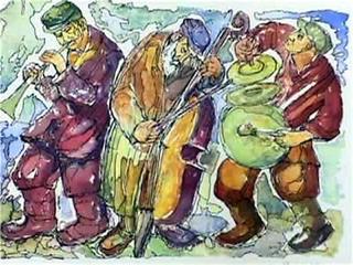 kapela żydowska by Chaim Goldberg
