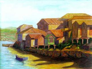 Hórreos de Combarro, Galicia by Paulino Lorenzo Tardón